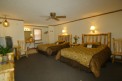 Room with 2 queen beds at Healing Waters Resort & Spa